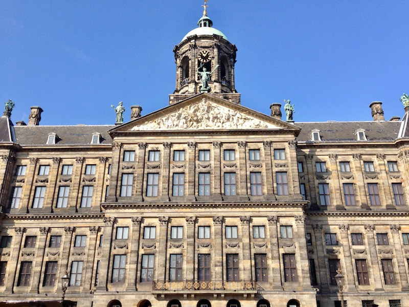 Royal Palace in Amsterdam, Sept 2017