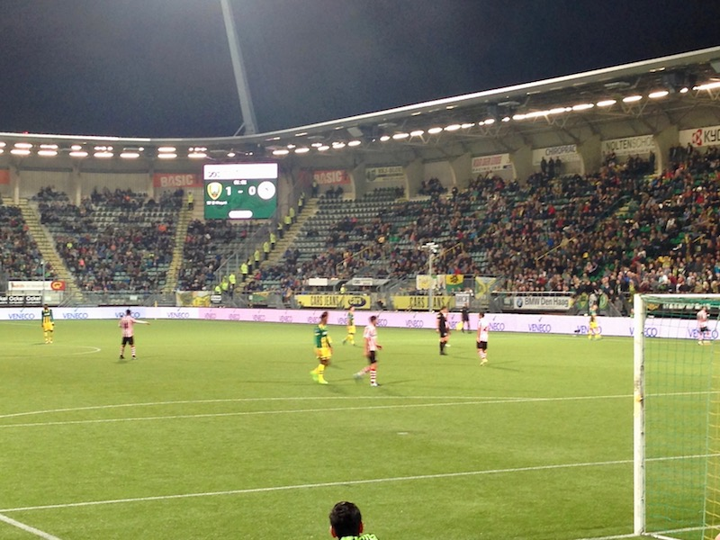 1-0 score between ADO Den Haag and Sparta