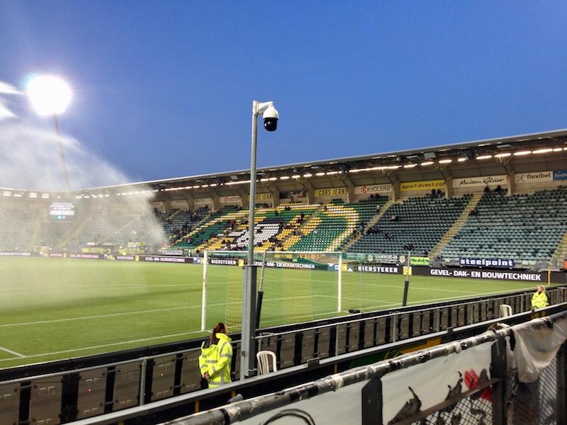 Before the ADO Den Haag football game