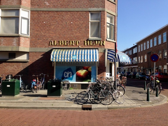 Old school Albert Heijn logo