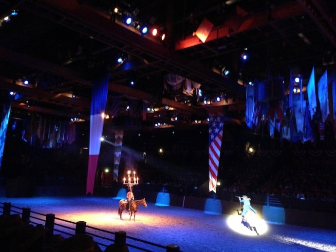 Buffalo Bill's Wild West show - Disneyland Paris