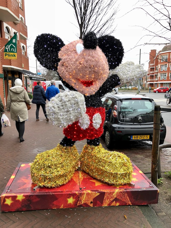 Mickey Mouse at the De Fred, The Hague, Christmas 2017