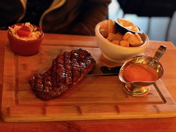 Steak at Brooklyn burgers and steaks, Scheveningen