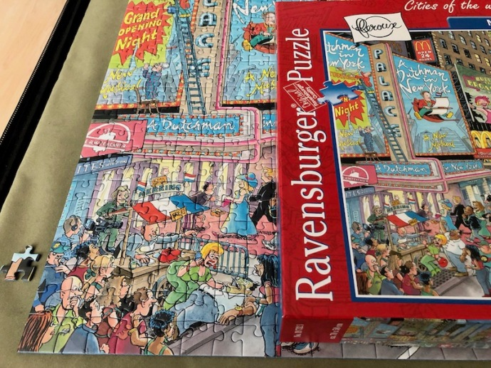 Ravensburger Cities of the World New York close up