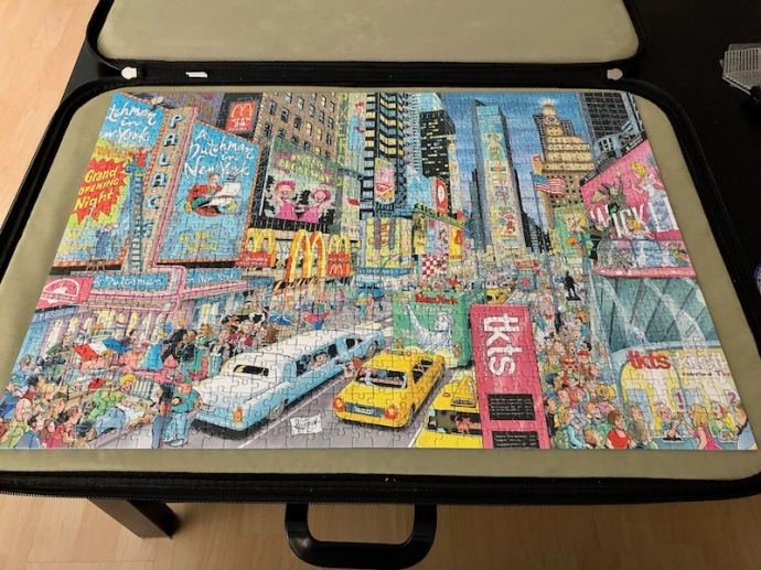Ravensburger puzzle - New York Cities of the World 1000 pieces