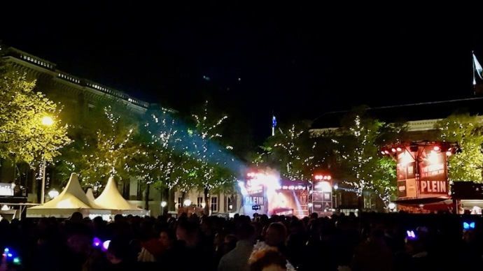 Stage at the King's Night party in The Hague 2