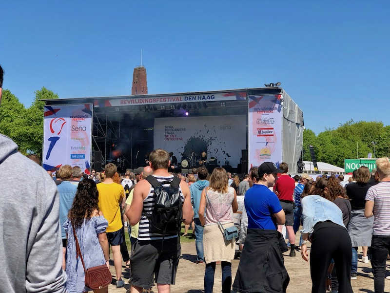 Bevrijdingsfestival in The Hague, 2018