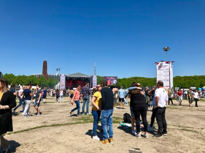 Bevrijdingsfestival music in The Hague, 2018