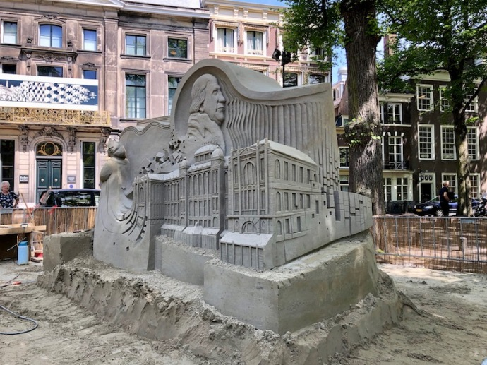 World sand sculpting championship 2018 - Netherlands