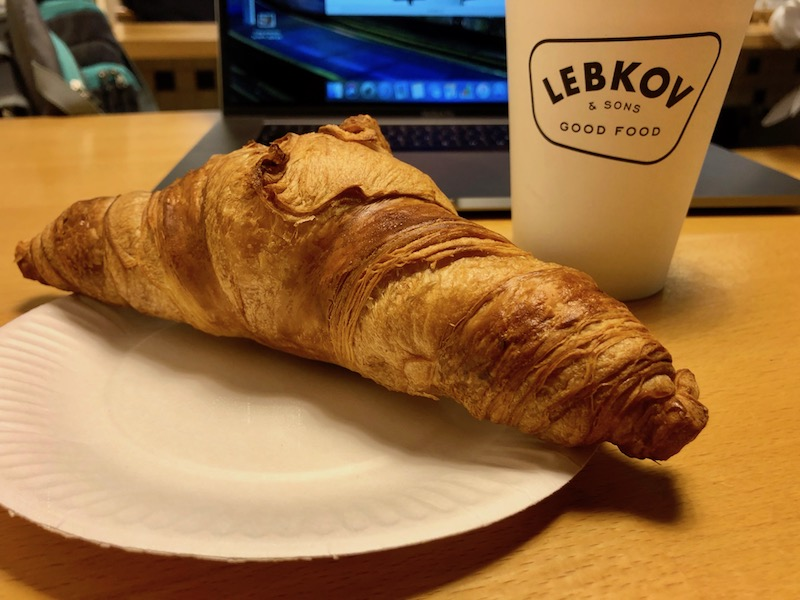 Breakfast at Lebkov, The Hague