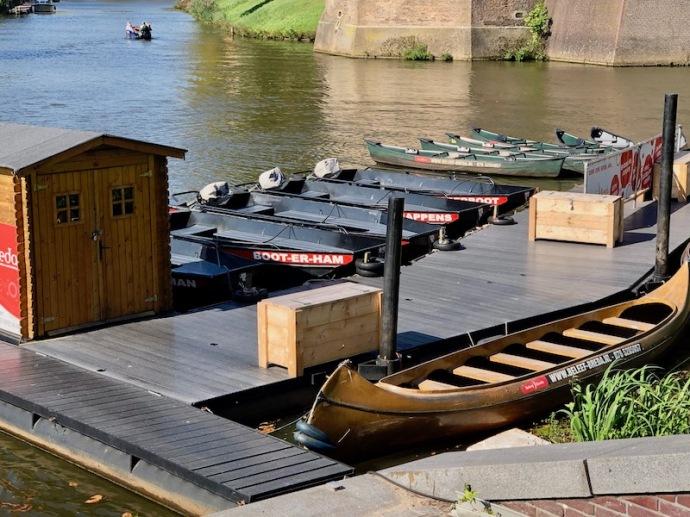 Boot-er-ham boat in Breda