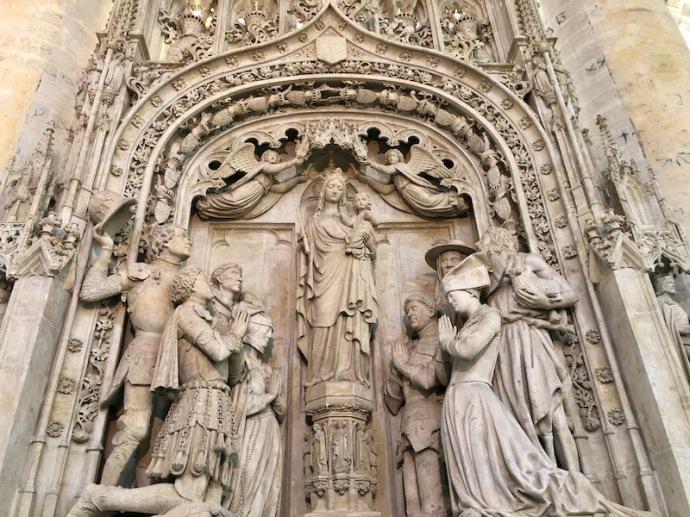 Grote Kerk in Breda, Engelbrecht sculpture