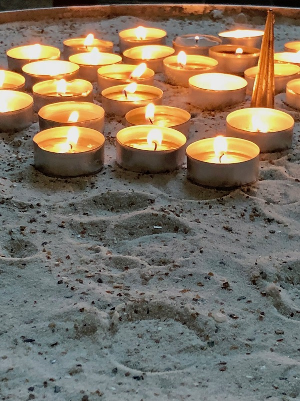 Grote Kerk in Breda, prayer candles